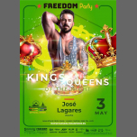 FREEDOM Party - Kings/Queens of the Night-Maspalomas Pride 2019 à Maspalomas le sam.  4 mai 2019 de 23h59 à 04h30 (Clubbing Gay, Lesbienne)