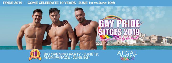 Sitges Pride 2019 - 10th Edition in Sitges von  1 bis 10. Juni 2019 (Festival Gay)