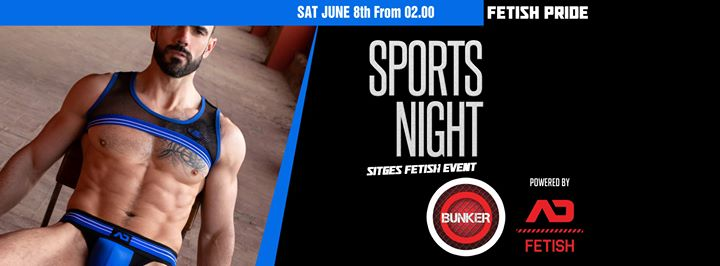 Sports Night à Sitges le sam.  8 juin 2019 de 02h00 à 05h30 (Sexe Gay, Lesbienne)