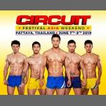 Circuit Festival Asia Weekend 2019 in Pattaya from  7 til June  9, 2019 (Festival Gay)