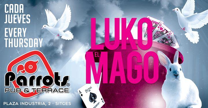 锡切斯Luko el Mago2019年 7月 5日,19:00(男同性恋, 女同性恋 下班后的活动)