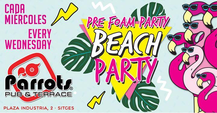 锡切斯Beach Party2019年 8月 7日,20:00(男同性恋, 女同性恋 下班后的活动)