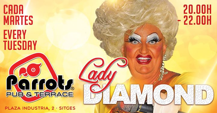Lady Diamond en Sitges le mar 30 de julio de 2019 20:00-22:00 (Espectáculo Gay, Lesbiana)