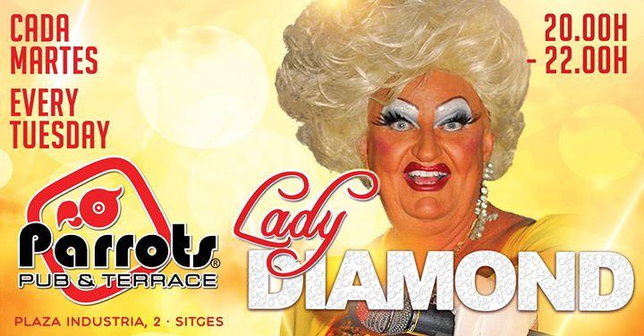 Lady Diamond en Sitges le mar  3 de septiembre de 2019 20:00-22:00 (Espectáculo Gay, Lesbiana)
