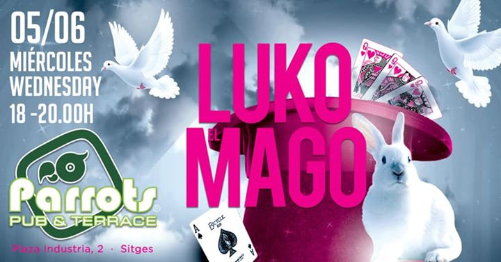 Una tarde Magica/magic evening in Parrots à Sitges le mer.  5 juin 2019 à 18h00 (After-Work Gay, Lesbienne)