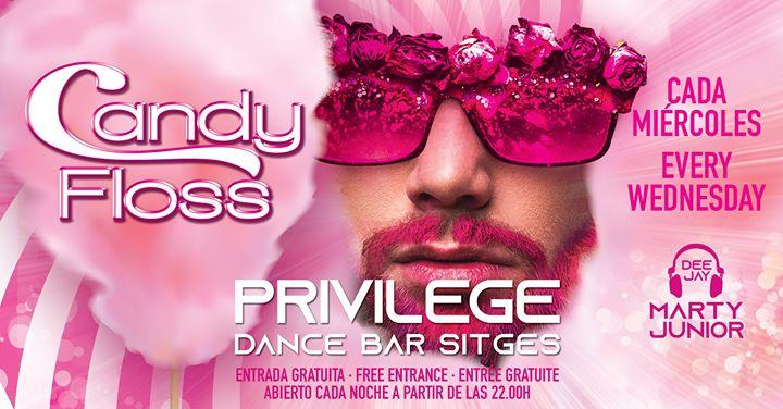 CANDY FLOSS à Sitges le mer. 21 août 2019 de 22h00 à 01h00 (Clubbing Gay)