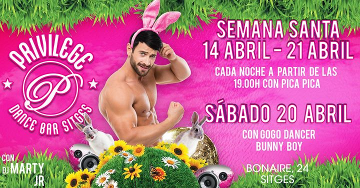 Semana Santa Easter in Sitges le Sun, April 21, 2019 from 07:00 pm to 02:30 am (After-Work Gay)