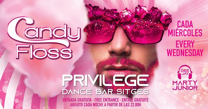 CANDY FLOSS in Sitges le Mi  3. Juli, 2019 22.00 bis 01.00 (Clubbing Gay)
