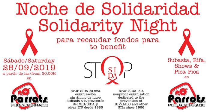 Noche de Solidaridad in Sitges le Sat, September 28, 2019 from 08:00 pm to 02:30 am (After-Work Gay)