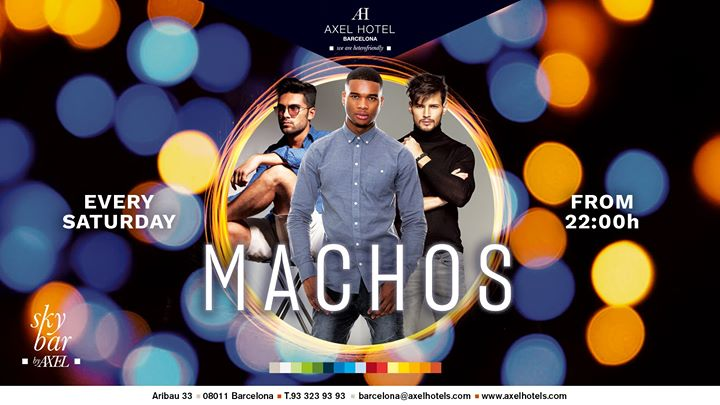 Mach@s! in Barcelona le Sat, September  7, 2019 from 10:00 pm to 02:00 am (After-Work Gay, Lesbian, Hetero Friendly)