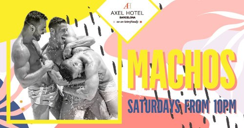 Mach@s! in Barcelone le Sa 10. August, 2019 22.00 bis 02.00 (After-Work Gay, Lesbierin, Hetero Friendly)