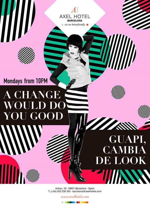 A change would do you GOOD! in Barcelona le Mon, August 26, 2019 from 10:00 pm to 02:00 am (After-Work Gay, Lesbian, Hetero Friendly)