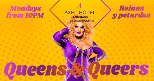 Queens & Queers in Barcelona le Mon, July 22, 2019 from 10:00 pm to 02:00 am (After-Work Gay, Lesbian, Hetero Friendly)