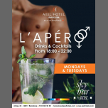 L'Apéro in Barcelona le Mon, April  1, 2019 from 06:00 pm to 10:00 pm (After-Work Gay, Lesbian, Hetero Friendly)