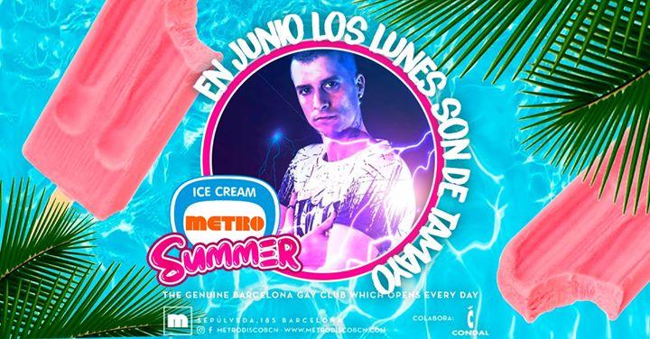 Los lunesTAMAYO en Metro Disco in Barcelone le Mo  3. Juni, 2019 23.59 bis 06.00 (Clubbing Gay)