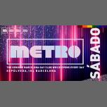 Sábados en Metro Disco · The Barcelona Gay Club à Barcelone le sam. 26 octobre 2019 de 23h59 à 06h00 (Clubbing Gay)