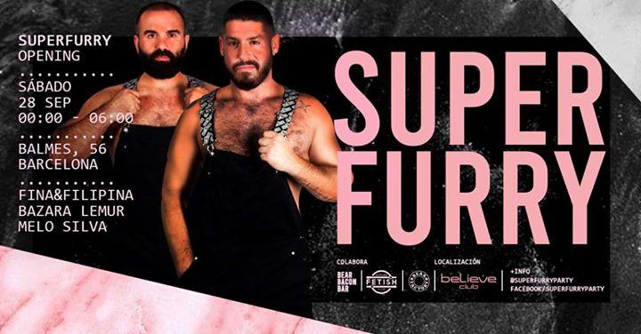 Superfurry - Opening 28/09 - Balmes, 56 à Barcelone le sam. 28 septembre 2019 de 23h00 à 06h00 (Clubbing Gay, Bear)