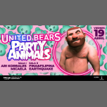 United BEARS · Party Animals · 19 ABRIL 19 à Barcelone le ven. 19 avril 2019 de 23h59 à 06h00 (Clubbing Gay, Bear)