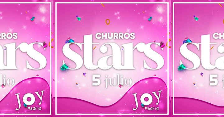 Churros Stars PRIDE con Ladilla Rusa - 5 Julio Madrid in Madrid le Fri, July  5, 2019 from 11:59 pm to 07:00 am (Clubbing Gay)