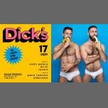 Dick´s - Tus nuevos super sábados à Barcelone le sam. 17 novembre 2018 de 23h59 à 06h00 (Clubbing Gay Friendly, Lesbienne Friendly)