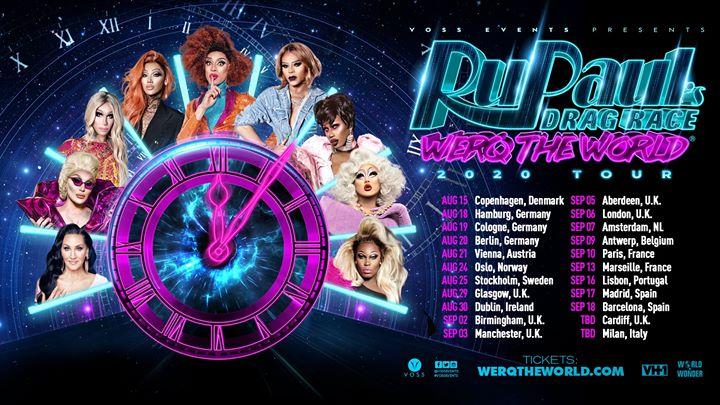 RuPaul's Drag Race: Werq The World - Madrid à Madrid le jeu. 17 septembre 2020 de 20h00 à 22h00 (After-Work Gay)