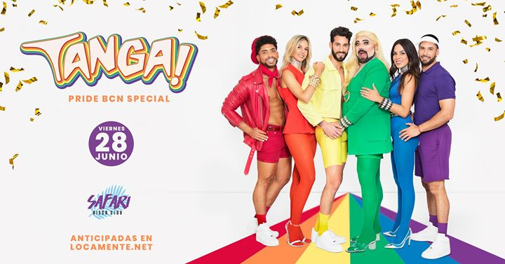 TANGA ! PRIDE Special Edition - Viernes 28 junio en Barcelona le vie 28 de junio de 2019 23:59-06:30 (Clubbing Gay Friendly)