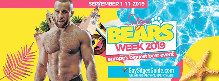 Bears Week Sitges - September Edition à Sitges du  1 au 11 septembre 2019 (Festival Gay)