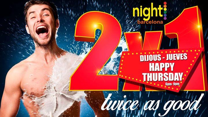 Happy Thursday a Barcellona le gio  4 luglio 2019 18:00-21:00 (Sesso Gay)