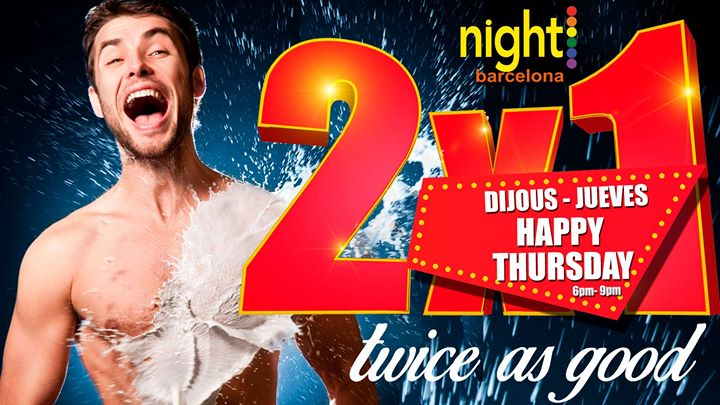 Happy Thursday em Barcelona le qui, 24 outubro 2019 18:00-21:00 (Sexo Gay)
