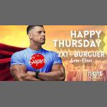 Super Happy Thursday em Barcelona le qui, 18 abril 2019 18:00-23:00 (Sexo Gay)