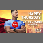 Super Happy Thursday en Barcelona le jue 21 de febrero de 2019 18:00-23:00 (Sexo Gay)