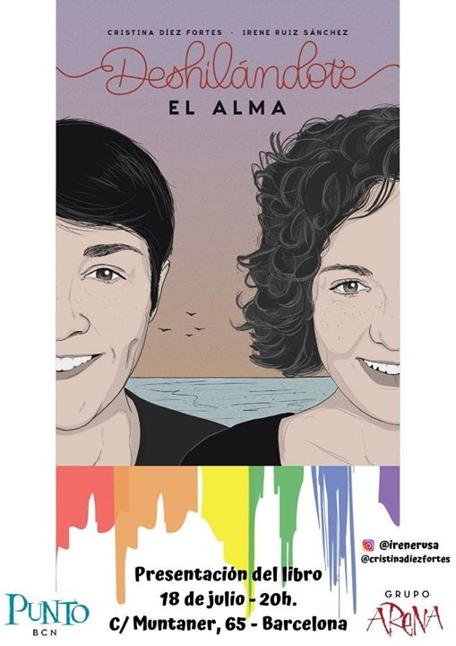 Presentación: libro de poesía de Irene y Cristina en Punto BCN in Barcelona le Thu, July 18, 2019 from 08:00 pm to 10:30 pm (Meetings / Discussions Gay)