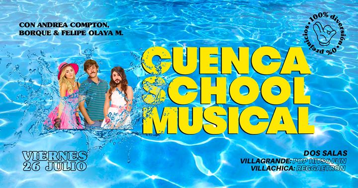Cuenca School Musical - Viernes 26 de JULIO à Barcelone le ven. 26 juillet 2019 de 23h59 à 06h00 (Clubbing Gay)