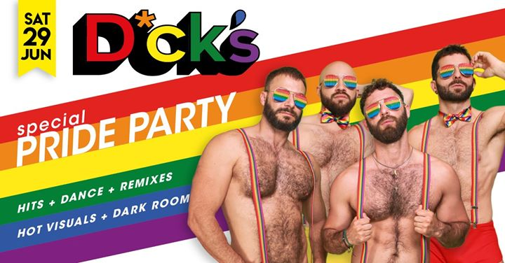 Dick's : Special Pride Party in Barcelona le Sat, June 29, 2019 from 11:55 pm to 07:00 am (Clubbing Gay)