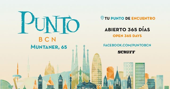 Gay Meeting Point · Thursdays · Punto BCN in Barcelona le Thu, November 28, 2019 from 06:00 pm to 02:00 am (After-Work Gay)