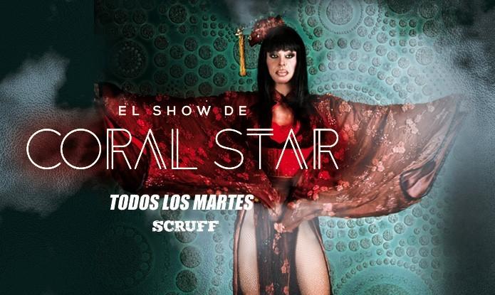 Martes de SHOW con Coral Star in Barcelone le Di 11. Juni, 2019 23.55 bis 05.00 (Clubbing Gay)