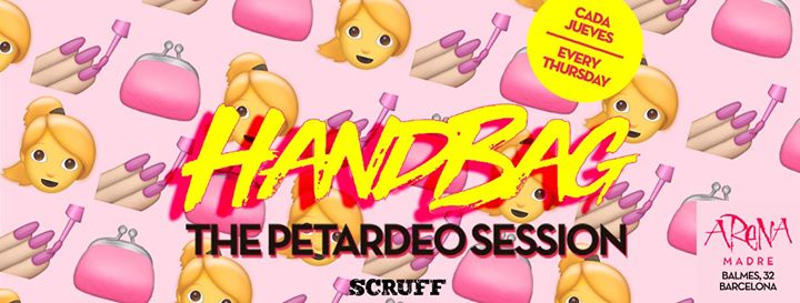 Handbag cada jueves en Arena in Barcelone le Do  6. Juni, 2019 23.59 bis 06.00 (Clubbing Gay Friendly, Lesbierin)