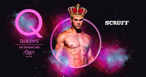 Queen's The Sunday HITS en Arena Madre in Barcelona le Sun, September 29, 2019 from 11:00 pm to 05:00 am (Clubbing Gay)