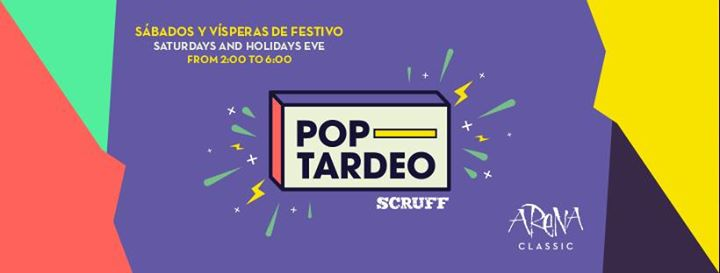 Poptardeo en Arena Classic in Barcelone le Do 18. April, 2019 02.00 bis 06.00 (Clubbing Gay)
