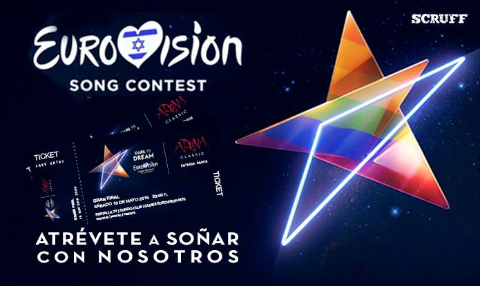Eurovision Song Contest Party 18/05 | Arena Classic em Barcelona le sáb, 18 maio 2019 20:00-06:00 (Clubbing Gay Friendly, Lesbica)