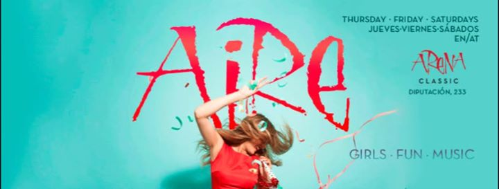 Aire Chicas · Pop Lesbian Party in Barcelona le Sat, May 25, 2019 from 11:00 pm to 02:00 am (Clubbing Gay)