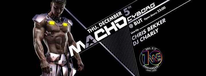 MACHO Party - Thursday, 5.12.19 à Madrid le jeu.  5 décembre 2019 de 23h00 à 06h00 (Clubbing Gay)
