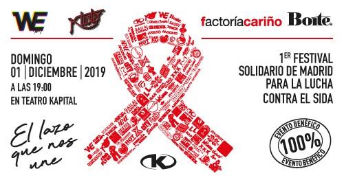 El Lazo Que Nos Une Contra El SIDA - 1.12.19 - Teatro Kapital à Madrid le dim.  1 décembre 2019 à 19h00 (Clubbing Gay)