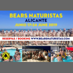 Bears Naturistas Alicante 2019 Gay Nudist Bear Event à Alicante du 17 au 24 juin 2019 (Festival Gay, Bear)
