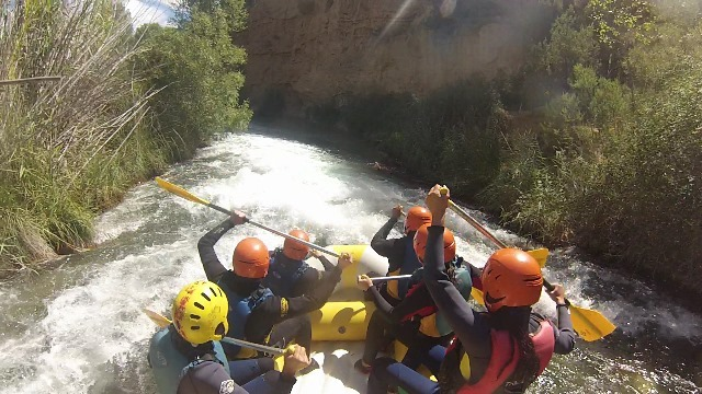 Rafting 'Hoces del Cabriel' in Iniesta le Sat, July 13, 2019 from 04:00 pm to 02:00 pm (Sport Gay)