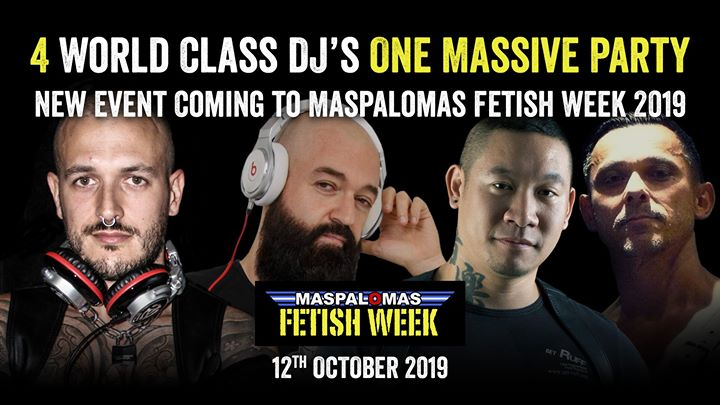 Massive in Maspalomas le Sat, October 12, 2019 from 10:00 pm to 04:00 am (Clubbing Gay)