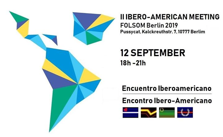 II Encuentro Iberoamericano Folsom'19 in Berlin le Thu, September 12, 2019 from 06:00 pm to 09:00 pm (After-Work Gay)