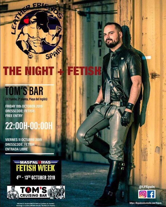 Fetish night LFSpain Maspalomas in Playa del Ingles le Fri, October 11, 2019 from 10:00 pm to 11:59 pm (Sex Gay)