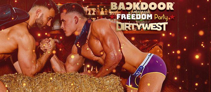 BACKDOOR presents FREEDOM PARTY Dirty West à Amsterdam le sam. 25 mai 2019 de 23h00 à 06h00 (Clubbing Gay)