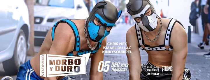 MORBO y DURO (SleazyMadrid Winter 2019) in Madrid le Do  5. Dezember, 2019 23.00 bis 06.00 (Clubbing Gay, Bear)